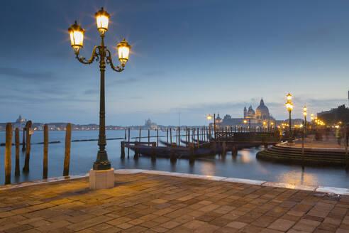 Basilica di Santa Maria della Salute on the Grand Canal, Venice, UNESCO World Heritage Site, Veneto, Italy, Europe - RHPLF01332