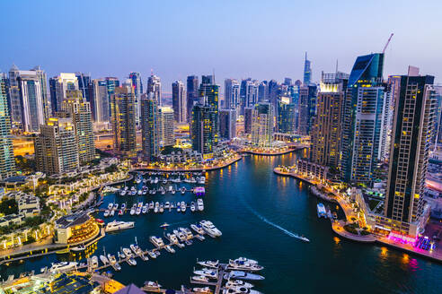 Dubai Marina, Dubai, United Arab Emirates, Middle East - RHPLF01473