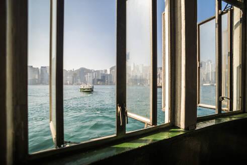 Star Ferry between Hong Kong Island and Kowloon, Hong Kong, China, Asia - RHPLF03593
