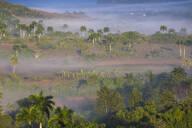 View of Vinales Valley, UNESCO World Heritage Site, Vinales, Pinar del Rio Province, Cuba, West Indies, Caribbean, Central America - RHPLF03673