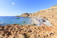 Beach of Bue Marino, San Vito Lo Capo, province of Trapani, Sicily, Italy, Mediterranean, Europe - RHPLF04000