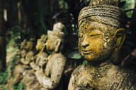 Statues at Wat Phalad Temple, Chiang Mai, Thailand, Southeast Asia, Asia - RHPLF04066