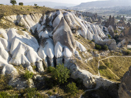Rock formations at Goreme Open Air Museum, Cappadocia, Turkey - KNTF03034