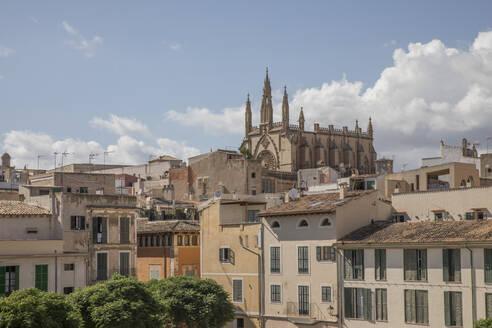 Standtansicht, Palma de Mallorca, Mallorca, Balearen, Spanien - JMF00447