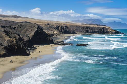 Playa del Viejo Rey, La Pared, Fuerteventura, Canary Islands, Spain, Atlantic, Europe - RHPLF05380