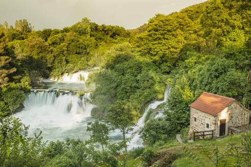 Skradinski Buk Waterfalls, Krka National Park, Dalmatia, Croatia, Europe - RHPLF06918