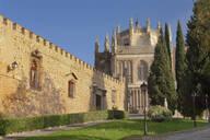 The wall of Palacio de la Cava, San Juan de los Reyes Monastery, Toledo, Castilla-La Mancha, Spain, Europe - RHPLF07444
