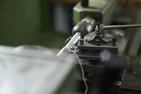 Detail of a lathe - CVF01460