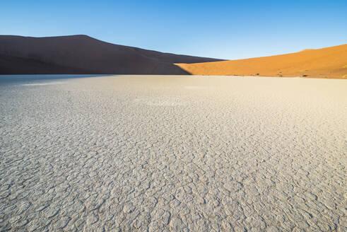 Deadvlei, an old dry lake in the Namib desert, Namibia, Africa - RHPLF08099