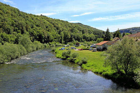 Our River near Dillingen, Grand Duchy of Luxembourg, Europe - RHPLF08216