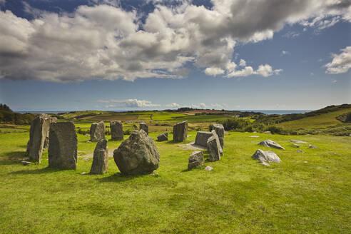 Drombeg stone circle, near Clonakilty, County Cork, Munster, Republic of Ireland, Europe - RHPLF08646