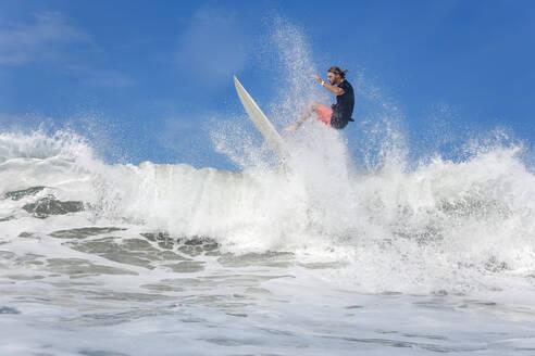Surfer on a wave - KNTF03400