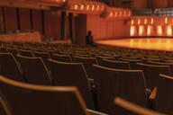 Seats in empty auditorium - HEROF38668