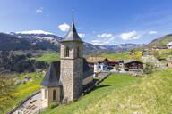 Church of Luzein, Prattigau-Davos region, Canton of Graubunden, Switzerland, Europe - RHPLF09550