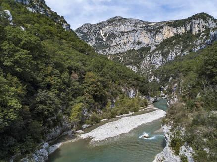 Verdon Gorge (Canyon du Verdon), Alpes-de-Haute-Provence, South of France, Europe - RHPLF09679