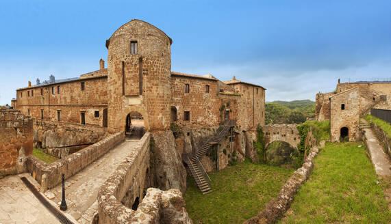 Rocca Orsini, Sorano castle, Tuscany, Italy, Europe - RHPLF09912