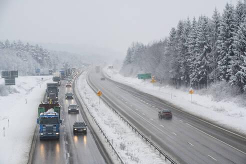 Winter motorway - JOHF00581