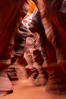 Antelope Canyon, Navajo Tribal Park, Page, Arizona, United States of America, North America - RHPLF11427