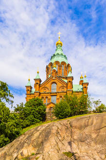 Uspenski Cathedral in Helsinki, Finland, Europe - RHPLF11969
