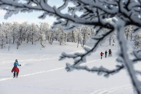 People skiing - JOHF01485