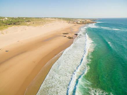 Praia da Guincho beach Portugal, popular with kitesurfers - AAEF04187