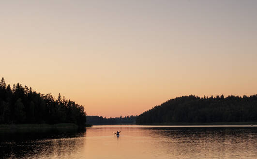 Sunset at lake - JOHF02653
