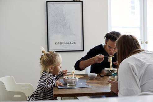 Family at table - JOHF03584