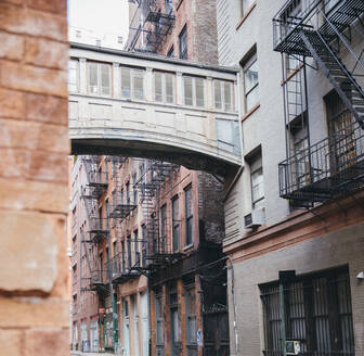 NYC, New York,/United States - Sept, 25, 2019: View of City Streets in Tribeca Neighborhood of New York City - CAVF65456