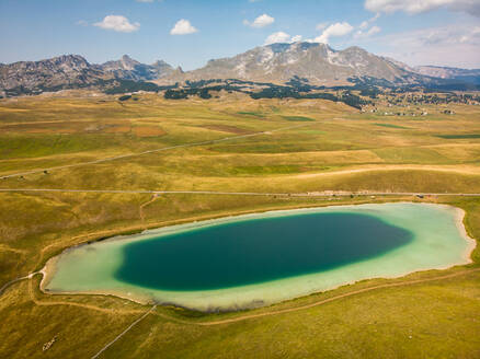 Vražje jezero (Devils Lake), a glacial reservoir in Durmitor, Montenegro - AAEF04652