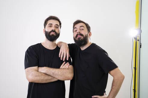 Portrait of gay couple - AFVF04145