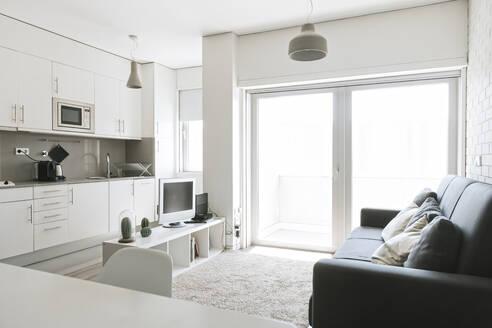 Modern loft with open plan kitchen - AHSF01020