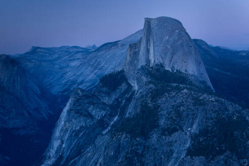 Half Dome in Yosemite National Park with Echo Peaks in the background. - CAVF67319