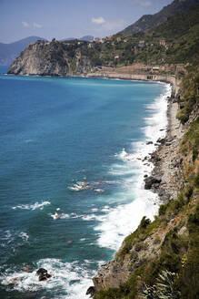 Mediterranean Sea, Liguria, Cinque Terre, Italy - GIOF07395
