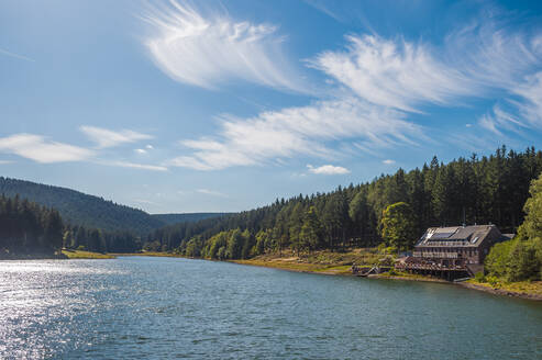 Remote holiday home at Lake Luetsche dam, Oberhof, Thuringia, Germany - FRF00883