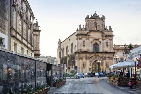 Piazza Carmine, Church Madonna del Carmine, Scicli, Province of Ragusa, Sicily - MAMF00949