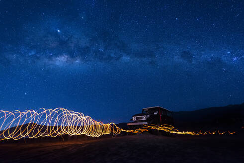 Indonesia_Mount Bromo_Milkyway - TOVF00133