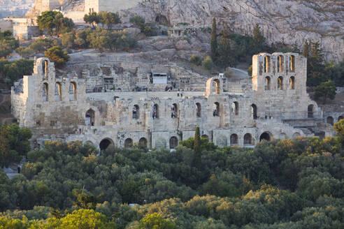 Herodes Atticus Theatre, Acropolis, UNESCO World Heritage Site, Athens, Greece, Europe - RHPLF12775