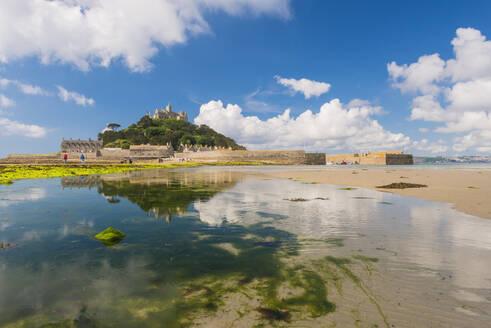St. Michael's Mount, Marazion, Cornwall, England, United Kingdom, Europe - RHPLF12874