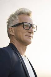 Portrait of confident businessman - SBOF02070