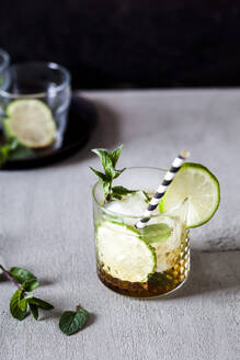Mojito with brown sugar, lime and mint - SBDF04176