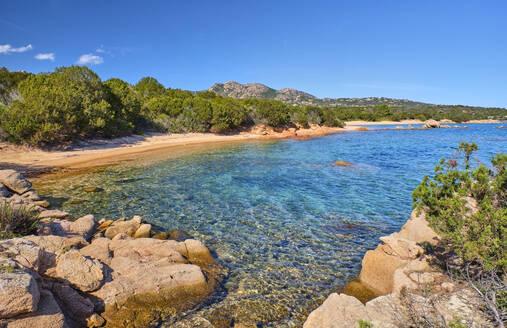 Italy, Province of Sassari,CaladiVolpe,Costa Smeralda in summer - MRF02293
