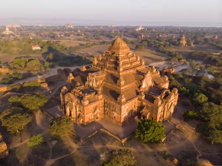 Aerial view of Bagan temples in Myanmar. - AAEF05767
