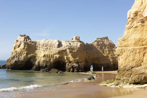 Beach, Praja da Rocha, Algarve, Portugal - FCF01837