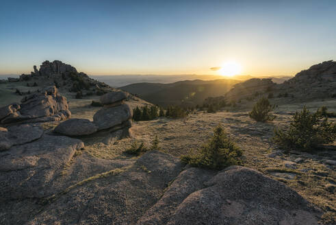 Sunset in the Lost Creek Wilderness - CAVF72235