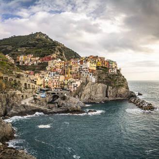 Townscape of Manarola, Liguria, Italy - MSUF00100