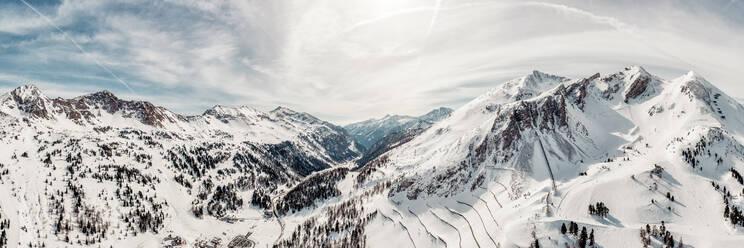 Austria, Carinthia, Salzburg Country, Obertauern in winter - DAWF01038