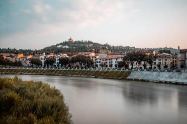 Italy, Veneto, Verona and Adige river - DAWF01062