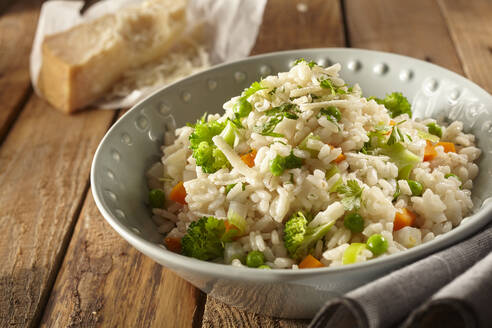 Italian Risi e bisi rice with peas - DREF00016