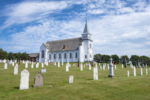 Canada, Prince Edward Island, Saint Peters Bay, Cemetery of Saint Peters Church - ELF02096