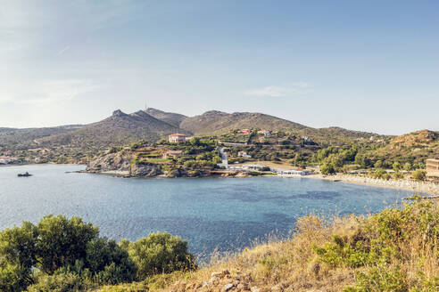 Coast of Cape Sounion, Attika, Greece - MAMF01008